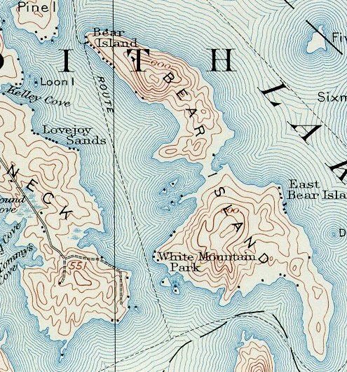 Old Island Maps